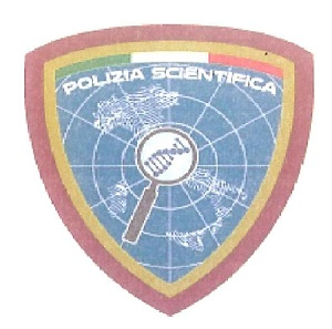 Nuovo distintivo Polizia Scientifica